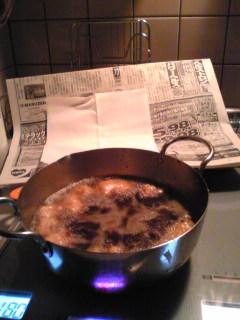 新聞広げても火がつかないのがよいでも離れちゃだめだよ