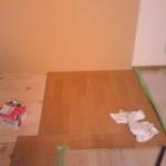 床補修収納撤去したので