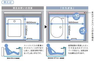 浴室スペースイメージ