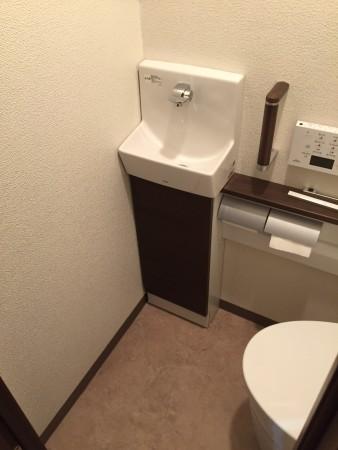 ネオレストワンデーリモデル手洗い器付き
