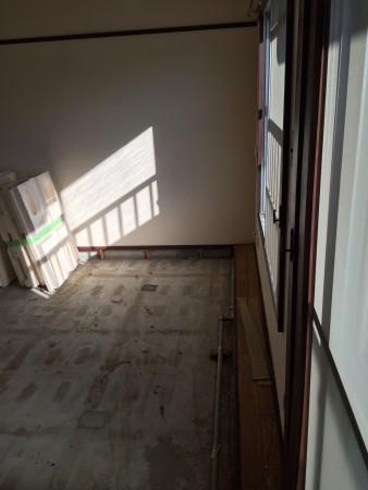 マンションの和室解体ビフォア