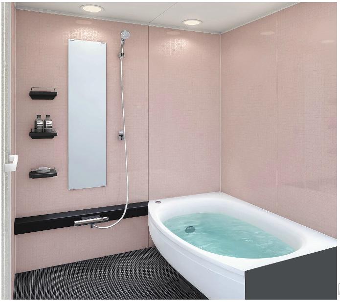 ワイド浴槽も選べますWGDタイプ