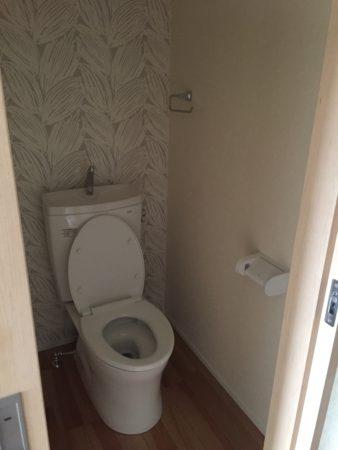 トイレアクセントクロス