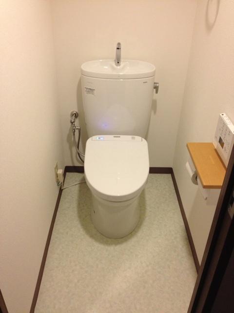 アフタートイレ改修