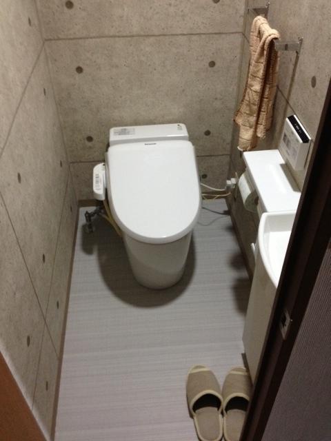 タンクレストイレアラウーノV施工例