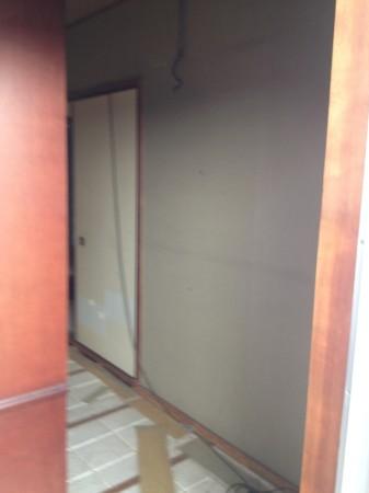 マンション和室改修中